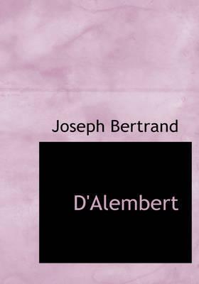 D'Alembert by Joseph Bertrand image