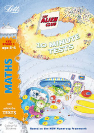 Aliens Quick Tests: Maths 5-6: age 5-6 by Lynn Huggins Cooper image