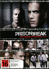 Prison Break - The Complete Seasons 1 And 2 (12 Disc Box Set) on DVD image