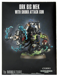 Warhammer 40,000 Ork Big Mek with Shokk Attack Gun
