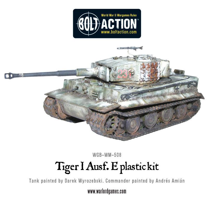 German Army - Tiger I Ausf. E Heavy Tank image