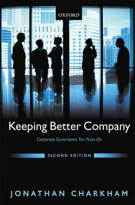 Keeping Better Company by Jonathan Charkham