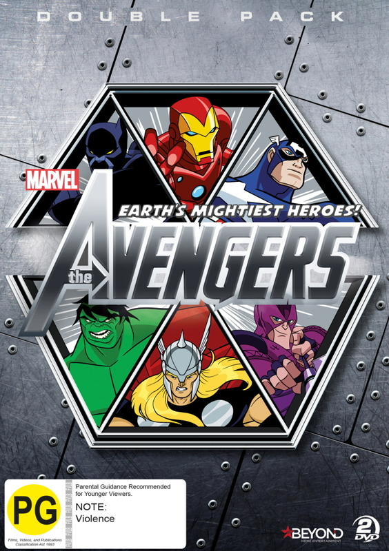 Avengers: Earth's Mightiest Heroes Double Pack on DVD