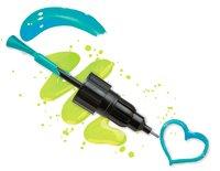 Alex: Glitter - Sketch It Nail Pen Set