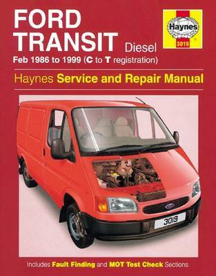 Ford Transit Diesel Service And Repair Manual by Haynes Publishing