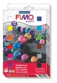 Staedtler Fimo Soft Modelling Clay - Set Of 12 Half Blocks (Assorted Colors)