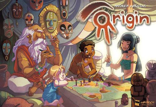Origin - Board Game