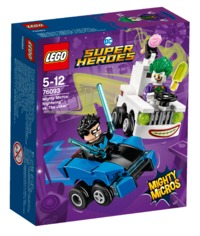 LEGO Super Heroes: Mighty Micros - Nightwing vs. Joker (76093)