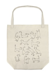 Fringe Studio: Funny Cat - Canvas Tote