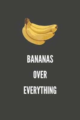 Bananas Over Everything by Sosweet Notebooks