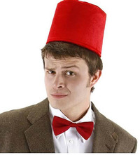 Doctor Who 11th Doctor Fez and Bow Tie Set