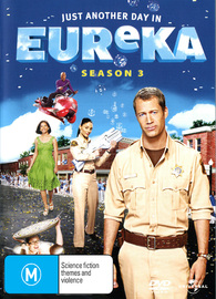 Eureka - Season 3 (4 Disc Set) on DVD image