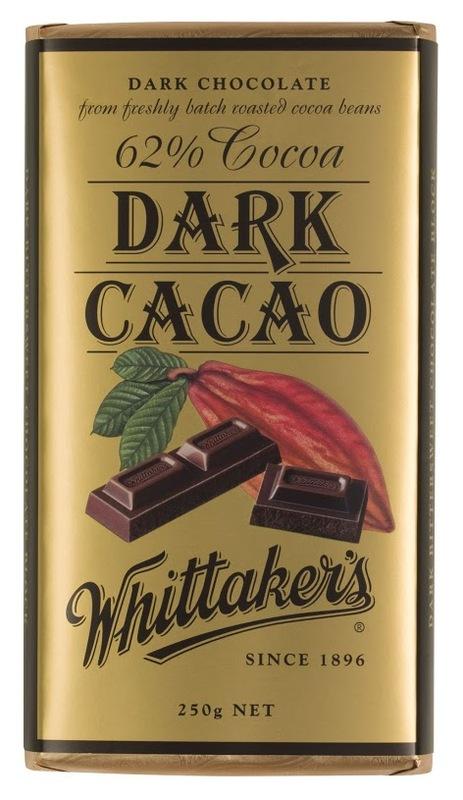 Whittakers 62% Dark Cacao Block (250g)