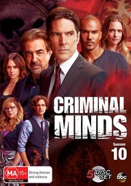 Criminal Minds: Season 10 on DVD