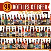 99 Bottles of Beer on the Wall 2018 Wall Calendar by Universe Publishing