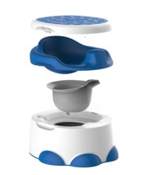 Bumbo Step 'n Potty - Blue image