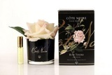 Côte Noire Perfumed Natural Touch Rose in Black (Pink Blush)