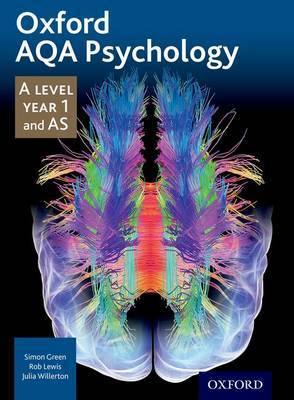 Oxford AQA Psychology A Level: Year 1 and AS by Simon Green image