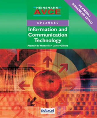 AVCE ICT Student Book by Alastair De Watteville