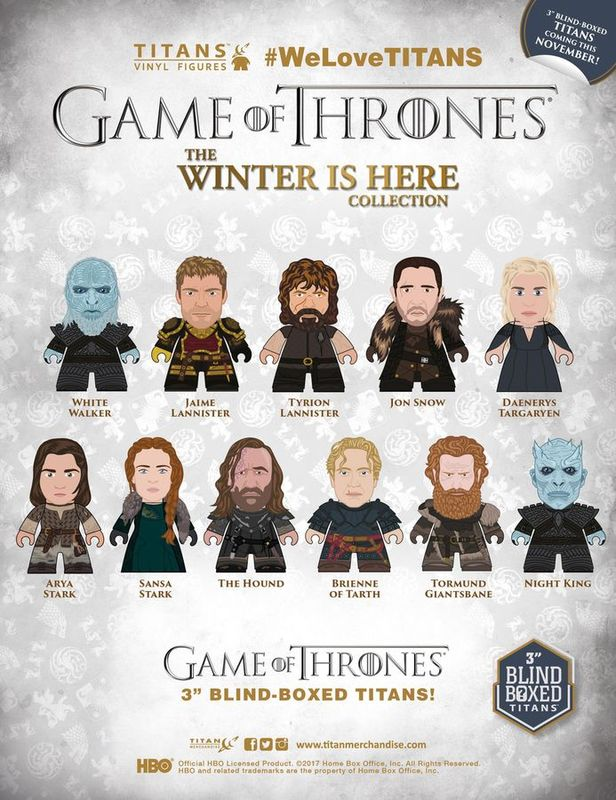 Game of Thrones: The Winter is Here - Titans Vinyl Figure (Blind Box)