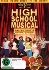 High School Musical - Encore Edition on DVD image