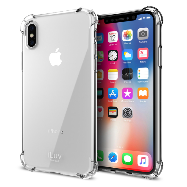 iLuv: Gelato Ultra-Thin Case - For iPhone X (Clear)