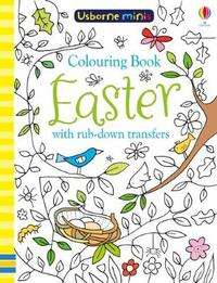 Colouring Book Easter with Rub Downs by Sam Smith