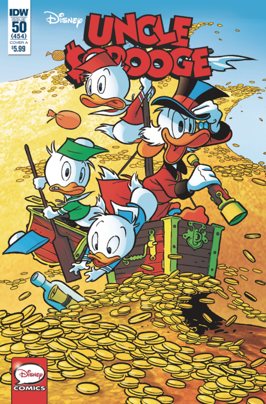 Uncle Scrooge #50 Cvr A Freccero by Vito Stabile