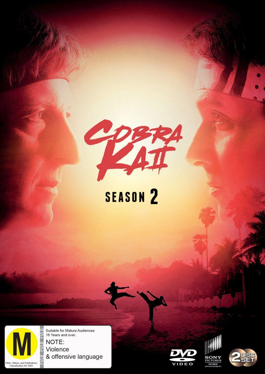Cobra Kai - Season 2 on DVD image