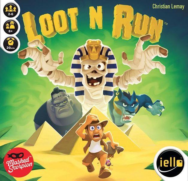 Loot N Run - Card Game