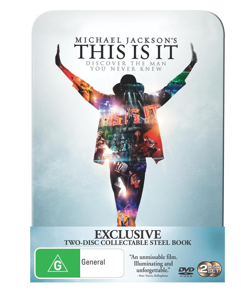 Michael Jackson - This Is It: Limited Edition Steel Book (2 Disc Set) image