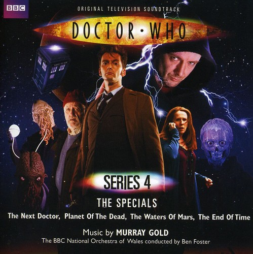 Doctor Who Series 4 The Specials Original Soundtrack (2CD) by Murray Gold image