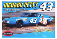 Polar Lights Richard Petty 1969 Talladega Stock Car 1/25 Model Kit