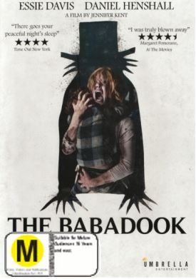 The Babadook on DVD
