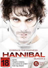 Hannibal - Season 2 on DVD image