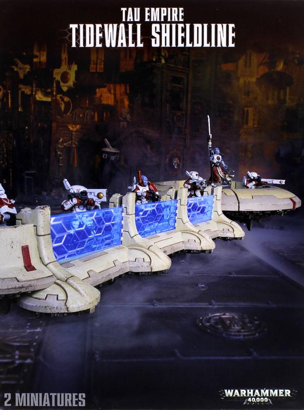 Warhammer 40,000 Tau Empire Tidewall Shieldline