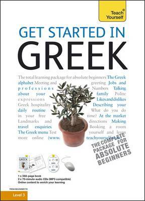 Teach Yourself Get Started in Greek by Aristarhos Matsukas image