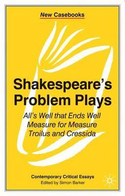 Shakespeare's Problem Plays image
