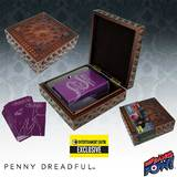 Penny Dreadful Tarot Card Deluxe Carved Wood Box Set