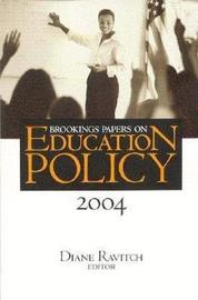 Brookings Papers on Education Policy: 2004 image