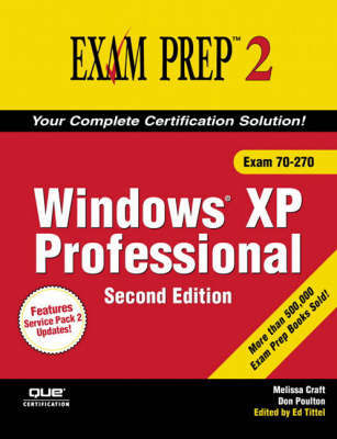 MCSA/MCSE 70-270 Exam Prep 2: Windows XP Professional by Don Poulton image
