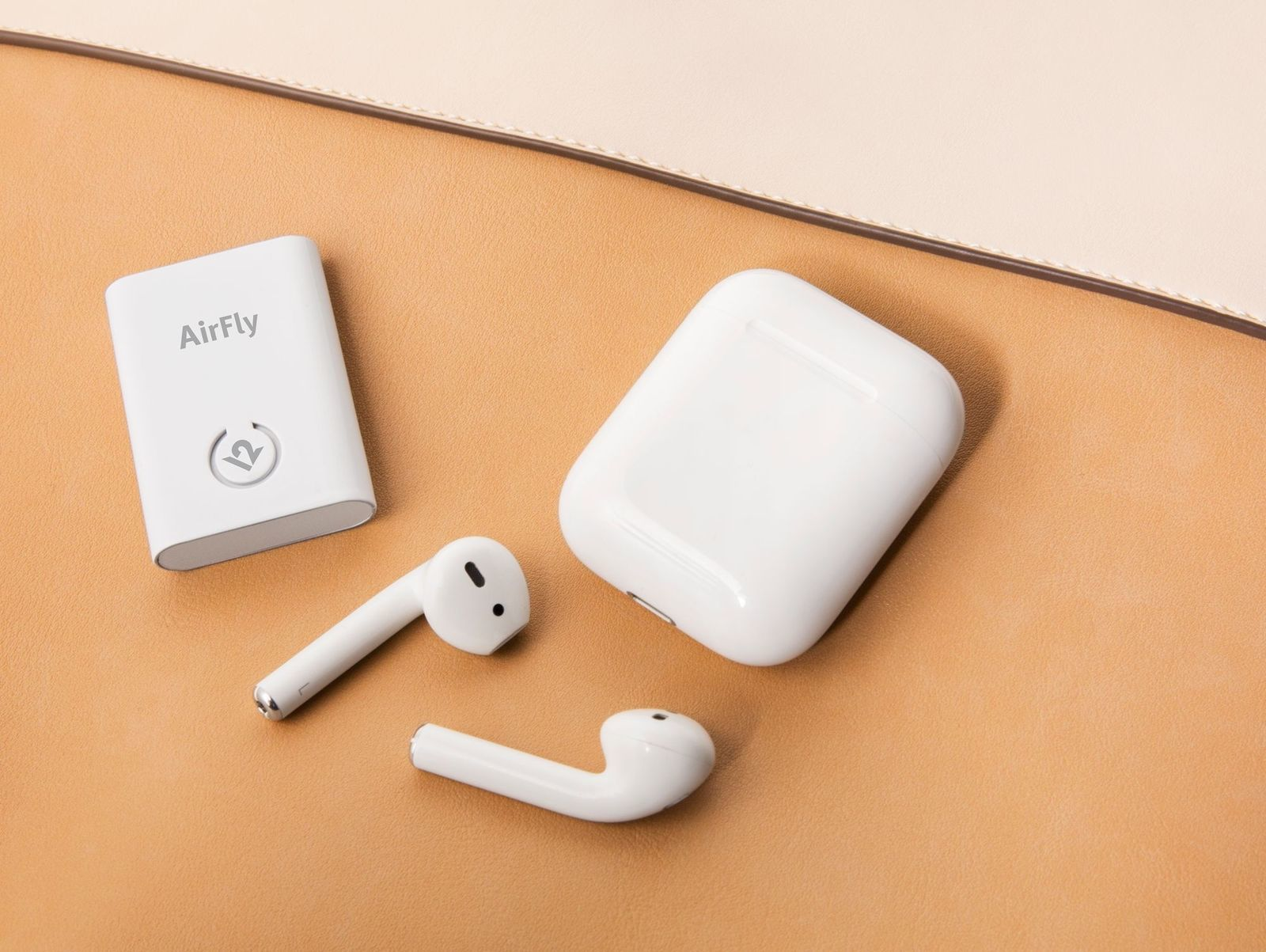 Twelve South Airfly Wireless Transmitter | Connect Airpods & Wireless Headphones to Headphone Jacks image