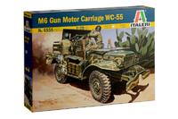 Italeri 1/35 M6 Gun Motor Carriage WC-55 - Scale Model Kit
