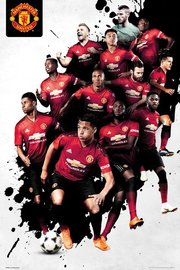 Man United Players 2018/2019 Maxi Poster (904)