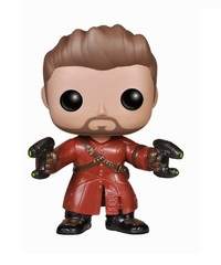 Guardians of the Galaxy - Star-Lord (Unmasked) Pop! Bobble Vinyl Figure