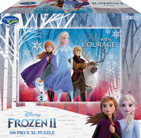 Holdson XL: 100 Piece Puzzle - Frozen 2 (Lead with Courage) image