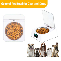 Smart Pet Feeder - with Infrared Sensor (White)