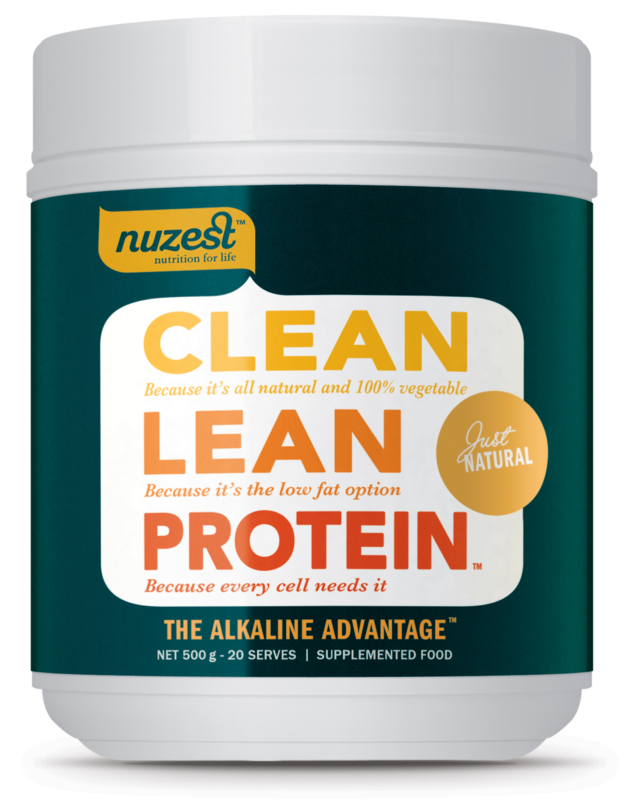 Clean Lean Protein - 500g (Just Natural) image