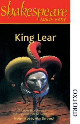 Shakespeare Made Easy: King Lear by Alan Durband image