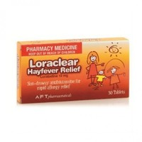 Loraclear Hayfever 10mg (30 Tablets)